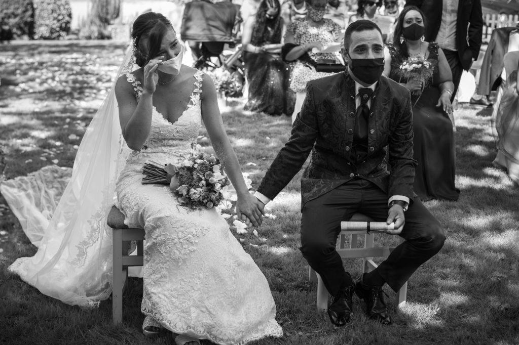 la boda covid de noa y diego