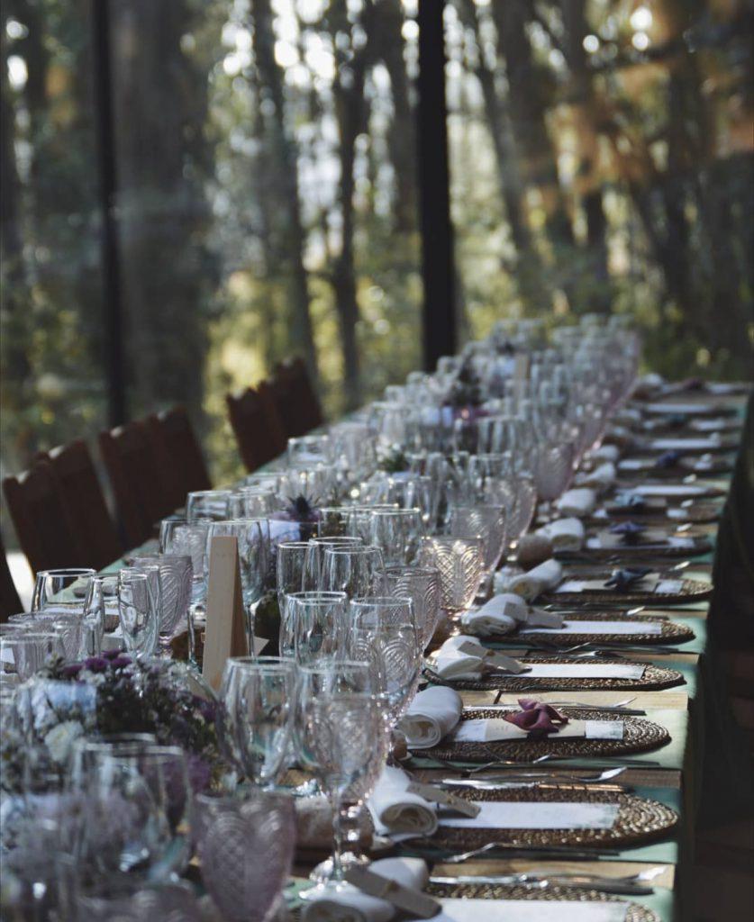 tendencias en mesas de banquete